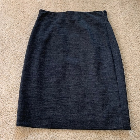 Ann Taylor Dresses & Skirts - Ann Taylor Side Zip Stretch Wool Pencil Skirt